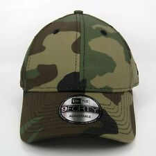New Era Cap Men's Original Basic Woodland Army Camouflage 940 Adjustable Hat
