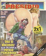RELATOS DE PRESIDIO MEXICAN COMIC #681 MEXICO SPANISH HISTORIETA 2007 CRIME