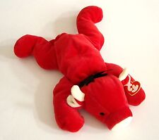 TY Pillow Pals  - RED the Bull Pillow Pal