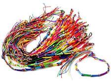 Lots Wholesale Jewelry Handmade Bracelets Braid Strands Friendship Cords 10Pcs