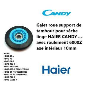 0180800201A, 49055459 Roue d'entrainement tambour Sèche-linge HAIER