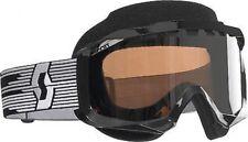 Hustle Snowcross Goggles Black/Silver Chrome Lens 217784-0001015