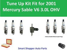 fuel filter oil air filter spark plugs fit to tune up for 2001 mercury sable  ohc