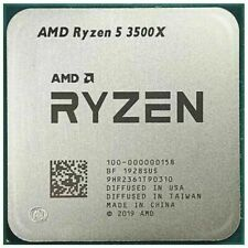 AMD Ryzen 5 3500X Processors R5 3.6 GHz CPU 6 Cores Socket AM4 4.1 GHz Max Boost