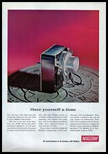 1965 Mallory Electronic Cycle Timer Switch Clothes Dryer Vintage PRINT AD 1960s