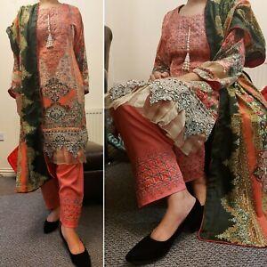 Eid collection Maria B Women Pakistani eid dress Fancy Shalwar Kameez
