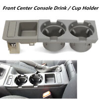 Cup Drink Coin Holder Key Oddments Tray Center Console For BMW 3 Series E46 Grey