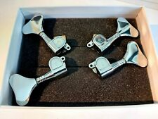 More details for schaller m4 bass tuners chrome 2x2 boxed mint y button fits rickenbacker 4004