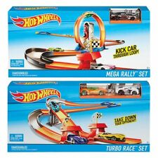 NEW Hot Wheels Race Rally Trackset Assorted