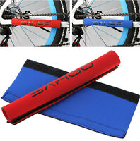 2pcsX New cycling Bicycle Bike Frame Chain stay Protector Guard Fabric Pad