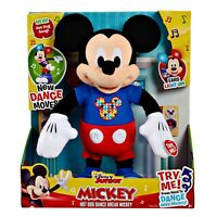 Kids Toy Hot Dog Dance Break Mickey Plush, Mickey Mouse