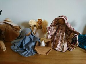 23 piece Joan Kottler Christmas Cribs nativity set 1990s