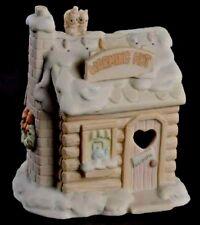 Precious Moments Sugar Town Lighted Warming Hut #192341 Nib