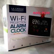 La Crosse Projection Alarm Clock with Weather Information GIFT BOX