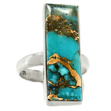 Rare Ithaca Peak Turquoise 925 Sterling Silver Ring Jewelry s.8 RR64451