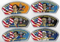 Connecticut Yankee Council 2001 National Jamboree; 12 piece set
