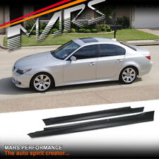 M5 M Tech Sport Style Side Skirts for BMW E60 5-Series Sedan
