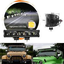 "6D Lens 120W 12"" CREE LED Light Bar Waterproof Dustproof For Offroad Truck ATV"