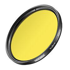 Neewer 52mm Yellow Lens Filter for Nikon D7100 D7000 D5200 D5100 D5000 D3300 D90