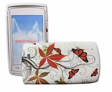 Muggle Silikon Case für Samsung S8600 Wave 3 BUTTERFLY Silicon Skin Hülle Tasche