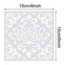 UK 16x Reusable Stencil Cut Painting Template Floor Wall Paint Stencils Tool*
