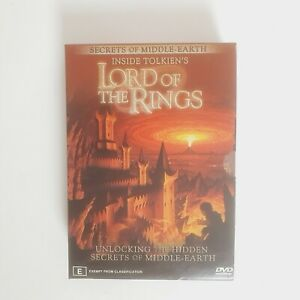 Secrets of Middle Earth Inside Tolkien's Lord of the Rings DVD Box Set Region 4