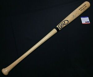 Chan Ho Park Signed Rawlings Pro-Model Baseball Bat *1st Korean Pitcher PSA