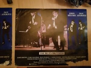 BLUES BROTHERS MOVIE LOBBY CARDS ORIGINAL BELUSHI AND AKROYD 8 Lobby Cards TOTAL