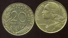 20 centimes 1991    marianne   ( bis )