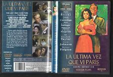 THE LAST TIME I SAW PARIS DVD 1954 Classic Film Elizabeth Taylor Richard Brooks