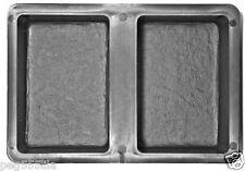 Giessformen 5 Stück für Pflaster Steine, Beton Form 281 (2-er Form zum gießen)