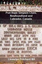 Port Hope Simpson Clues, Newfoundland and Labrador, Canada : Port Hope...