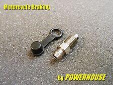 1x M8 1.25 mm De Acero Inoxidable tornillo de purga Nissin Honda Triumph Ducati Brembo