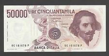 Italy 50000 Lire 1984-90 VF+ P. 113,  Banknotes, Circulated