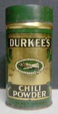 Circa 1930 Durkee's Chilli Powder Spice Tin - Elmhurst, NY