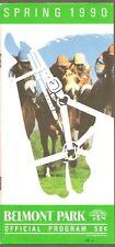 EASY GOER IN 1990 SUBURBAN HANDICAP HORSE RACING PROGRAM!
