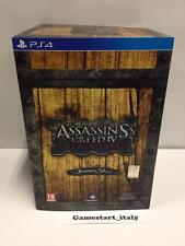 ASSASSIN'S CREED 4 IV BLACK FLAG BUCCANEER COLLECTOR'S EDITION - PS4 - NUOVO NEW