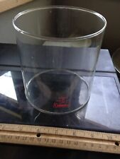 VINTAGE Coleman Lantern replacement Clear Glass Globe Pyrex made in  USA   220F