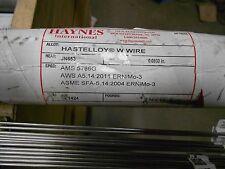 "3/32"" Haynes Hastelloy W Wire Tig 36"" Welding Rod - 1 Lb - ERNiMo-3"