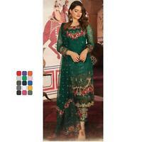 New Pakistani Salwar Kameez Designer Anarkali Shalwar Suit Party Fertiges Kleid