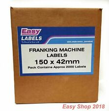 More details for franking machine post mailing labels pitney bowes compatable 3000 labels in box
