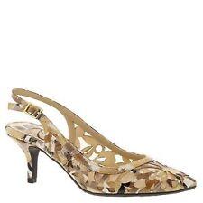 Women's Slingback Floral Patterned Heels