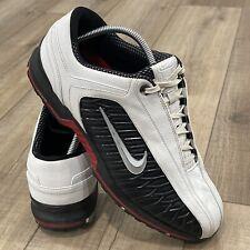 Nike Golf  Zoom 336037-101 Mens Shoes 10.5 W Black White Red