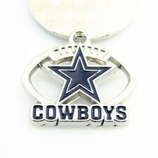 10pcs NFL Sports Dallas Cowboys Dangle Floating Charms DIY Necklace & Bracelet