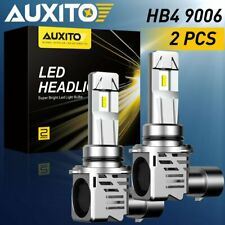 2X Auxito 9006 Hb4 Led Headlight Bulb Kit Low Beam 6500K Canbus 24000Lm White A3