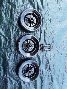 OEM Craftsman Edger Front Wheel and 2 back wheels. Older models.