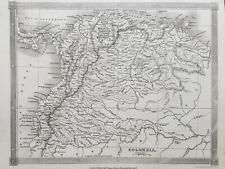 1842 Antique Map; Colombia - Alexander Findlay