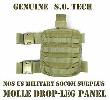 SO TECH MOLLE TACTICAL DROP-LEG THIGH PANEL RIG IFAC HOLSTER COYOTE US MILITARY