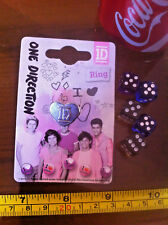 1D One Direction Ring Claire's Claires Accessories Official £7 RRP
