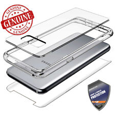 For Samsung Galaxy Note 8 / S8 Clear Case Cover Tempered Glass Shockproof Hybrid
